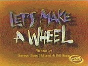 Let's Make A Wheel Free Cartoon Picture