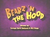 Bearz 'n The Hood Picture Of Cartoon