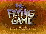 The Frying Game Cartoon Picture