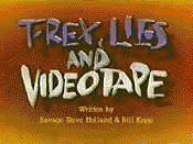 T-Rex, Lies And Videotape Free Cartoon Picture
