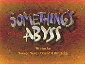 Something's Abyss Free Cartoon Picture