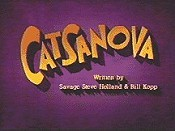 Catsanova Picture Of Cartoon