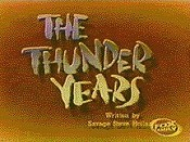 The Thunder Years Free Cartoon Picture