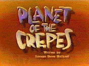 Planet Of The Crepes Picture Of Cartoon