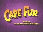 Cape Fur Picture To Cartoon