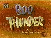 Boo Thunder Free Cartoon Picture