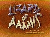 Lizard Of Aaaahs Free Cartoon Pictures