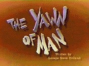 The Yawn Of Man Cartoons Picture