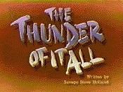 The Thunder Of It All Cartoon Picture