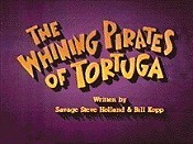 The Whining Pirates Of Tortuga Cartoon Picture