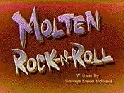 Molten Rock-n-Roll Cartoon Picture