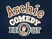 Archie's Comedy Hour Picture Into Cartoon