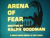 Arena Of Fear Picture Into Cartoon