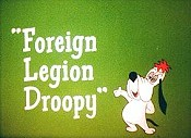 Foreign Legion Droopy Cartoon Character Picture