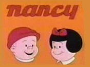 Nancy and Sluggo Theatrical Cartoon Series Logo