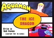 The Ice Dragon Cartoon Picture