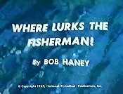 Where Lurks The Fisherman! Free Cartoon Picture