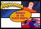 Menace Of The Black Manta Cartoon Picture