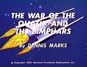 The War Of The Quatix And The Bimphars Cartoons Picture