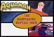 The Rampaging Reptile-Men Cartoon Picture