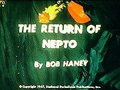 The Return Of Nepto Free Cartoon Picture