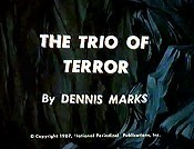 The Trio Of Terror Free Cartoon Picture