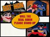 Will The Real Robin Please Stand Up? Free Cartoon Picture