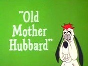 Old Mother Hubbard Cartoon Character Picture