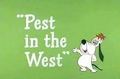 Pest In The West Picture To Cartoon