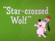 Star-Crossed Wolf Cartoon Character Picture