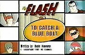 To Catch A Blue Bolt Cartoon Picture
