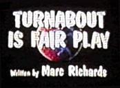 Turnabout is Fair Play Picture Of Cartoon