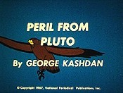 Peril From Pluto Free Cartoon Picture