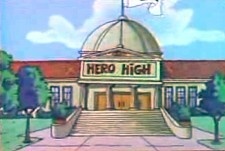 Hero High Episode Guide Logo