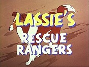 Lassie Special Picture Into Cartoon