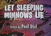 Let Sleeping Minnows Lie Cartoon Picture