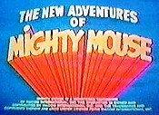 The New Adventures Of Mighty Mouse And Heckle & Jeckle (Series) Cartoon Character Picture