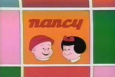 Nancy and Sluggo  Logo