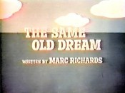 The Same Old Dream Free Cartoon Pictures