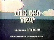 The Ego Trip Cartoon Picture