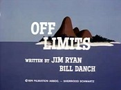 Off Limits Cartoon Picture