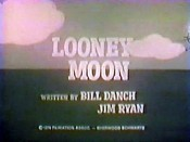 Looney Moon Cartoon Picture