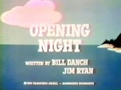 Opening Night Cartoon Pictures