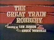 The Great Train Robbery Picture Of Cartoon