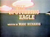 The Sputtering Eagle Cartoon Picture