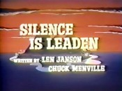 Silence Is Leaden Picture Of Cartoon