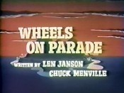 Wheels On Parade Picture Of Cartoon