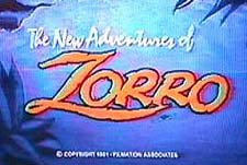 The New Adventures of Zorro Episode Guide Logo