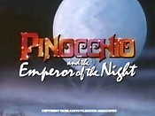 Pinocchio And The Emperor Of The Night Pictures In Cartoon