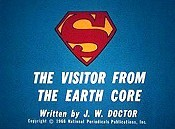 The Visitor from The Earth Core Cartoon Character Picture